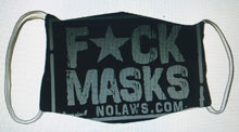 Load image into Gallery viewer, F*CK  MASKS   -   LIMITED QUANTITY!! - NO LAWS MOTORCYCLES