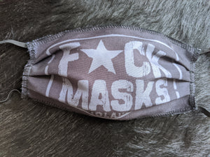 F*CK  MASKS   -   LIMITED QUANTITY!! - No Laws® Brand