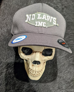 NO LAWS INC. FLEXFIT HAT - No Laws® Brand