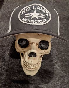 NO LAWS MOTORCYCLES FLEXFIT HAT - No Laws® Brand