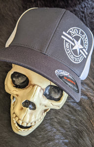 NO LAWS MOTORCYCLES FLEX FIT HAT - No Laws® Brand