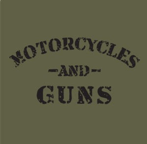 MOTORCYLES AND GUNS - No Laws® Brand