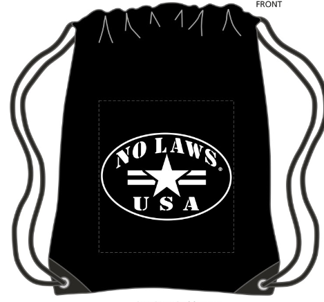 NO LAWS USA DRAWSTRING SPORTPACK - No Laws® Brand