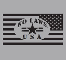 Load image into Gallery viewer, MOTORCYLES AND CHAOS - No Laws® Brand