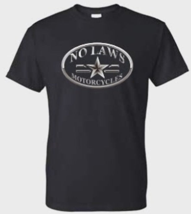 NO LAWS MOTORCYCLES OVAL - No Laws® Brand