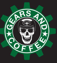 Load image into Gallery viewer, GEARS AND COFFEE - NO LAWS MOTO