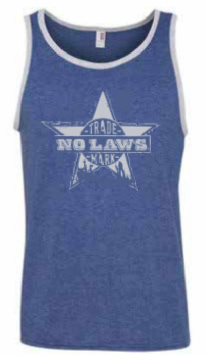 NO LAWS TRADE MARK TANK TOP - NO LAWS MOTORCYCLES