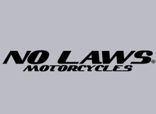 Load image into Gallery viewer, NO LAWS MOTORCYCLES - GREY - NO LAWS MOTORCYCLES
