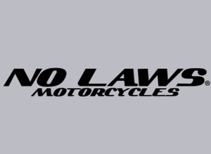 NO LAWS MOTORCYCLES - GREY - No Laws® Brand