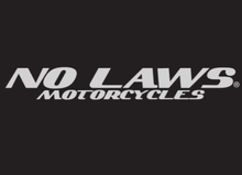 Load image into Gallery viewer, NO LAWS MOTORCYCLES - BLACK - No Laws® Brand