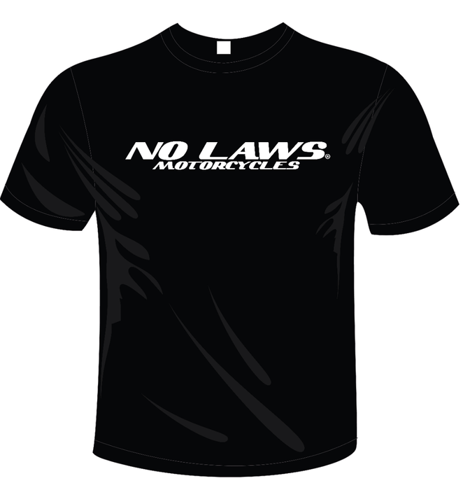 NO LAWS MOTORCYCLES - BLACK - NO LAWS MOTORCYCLES
