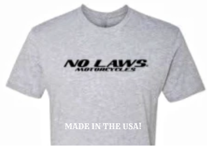 NO LAWS MOTORCYCLES - GREY - NO LAWS MOTORCYCLES