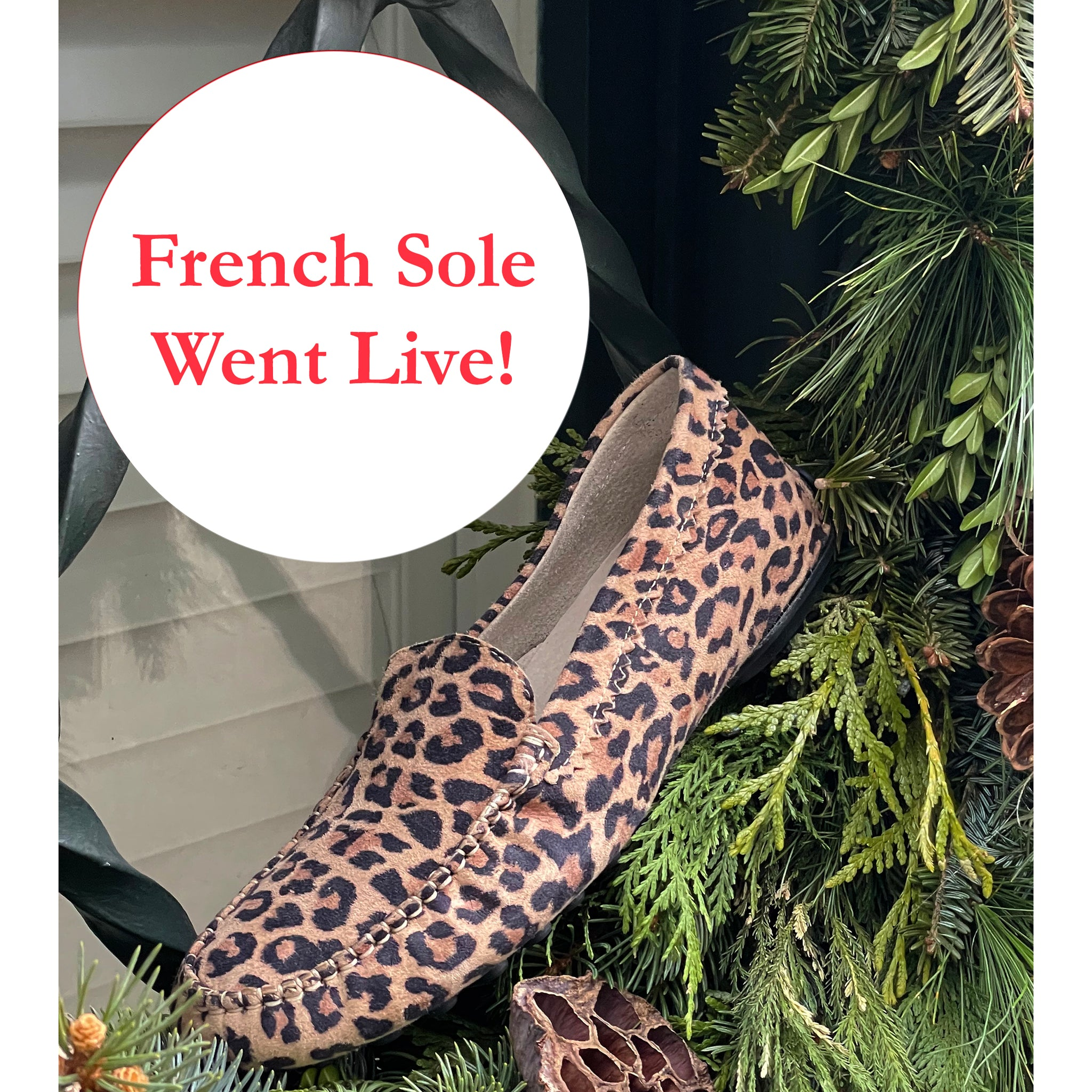 French Sole Went Live!