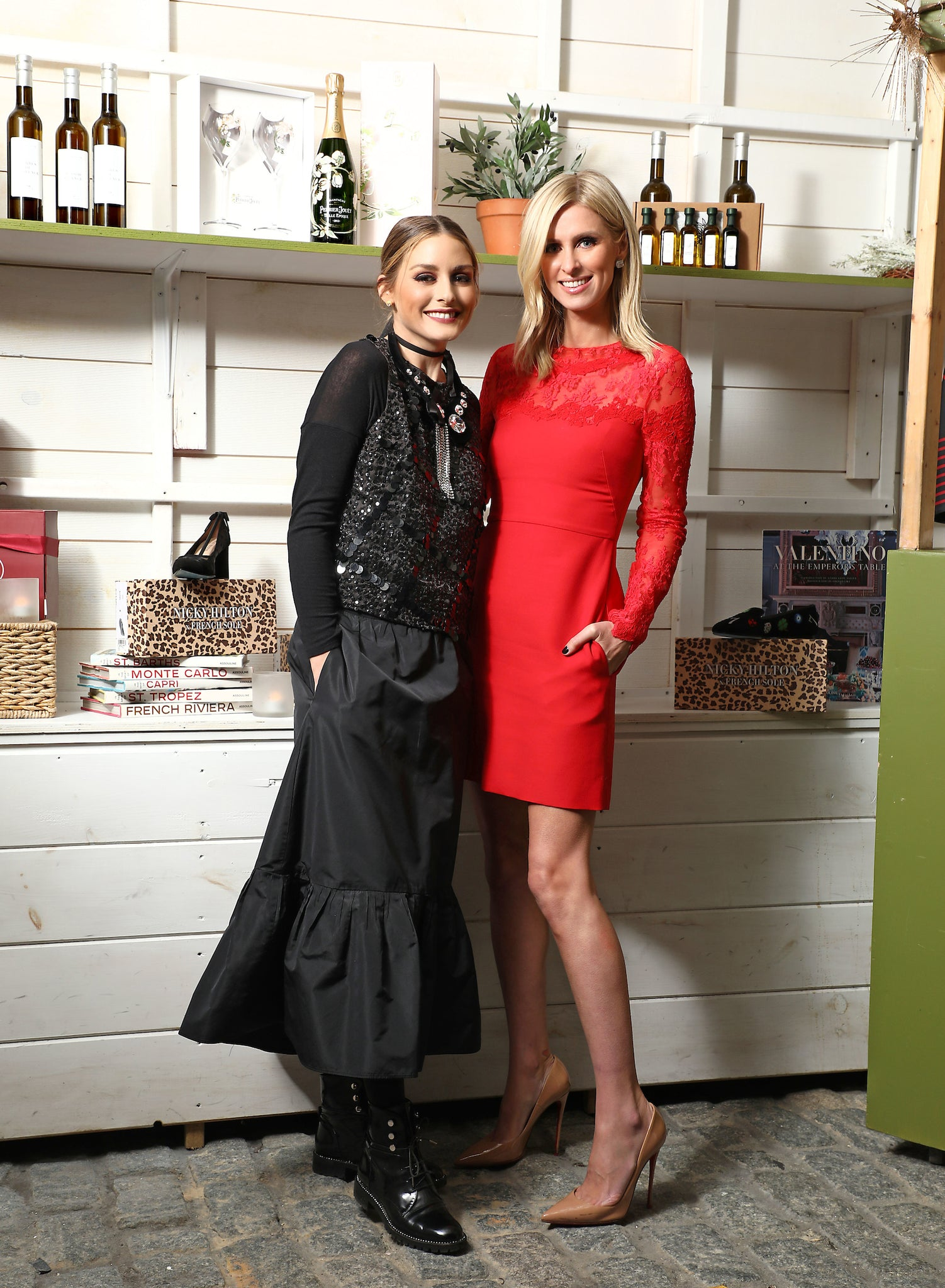 Olivia Palermo Named Nicky Hilton x French Sole as One of Her Ideal Items for Fig & Olive's Le Marche