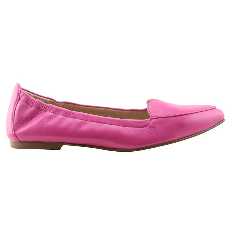 Claudia - Fuchsia Leather