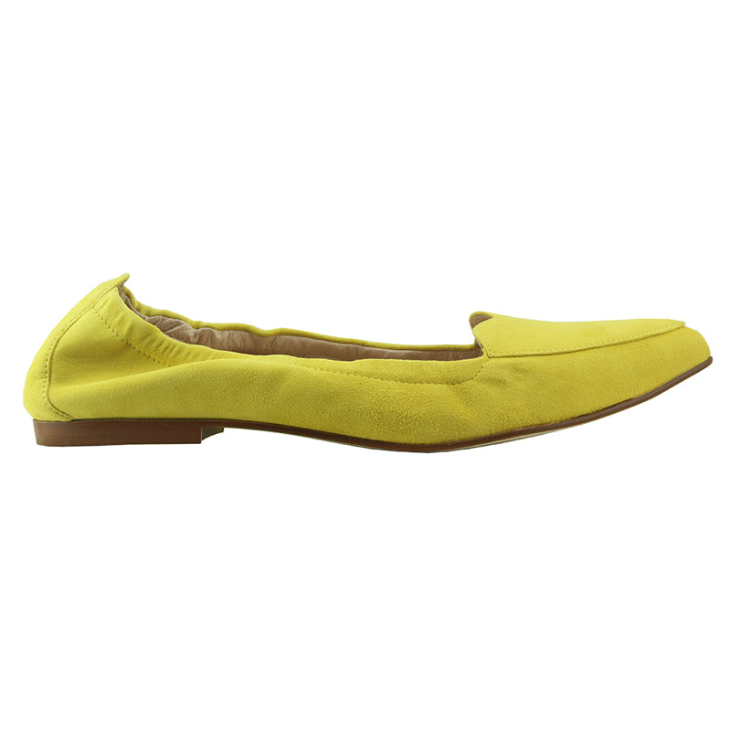 Claudia - Yellow Suede