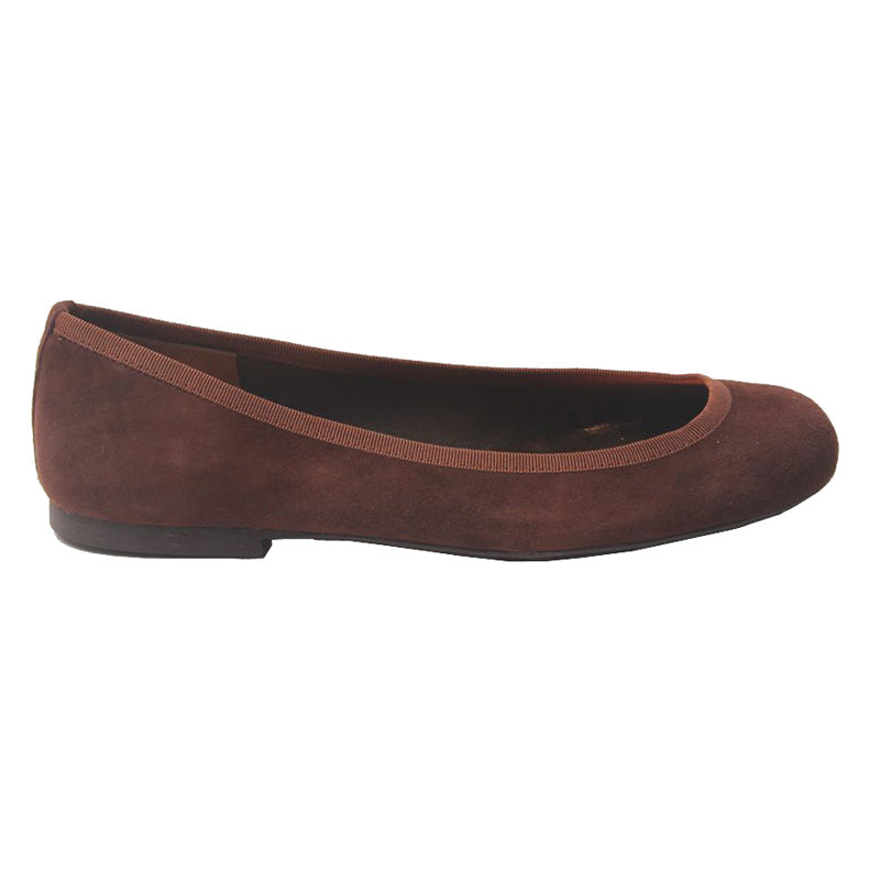 Belle - Brown Suede