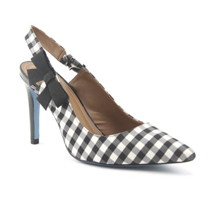 Brooke - Black Gingham