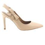 Brooke - Beige Leather