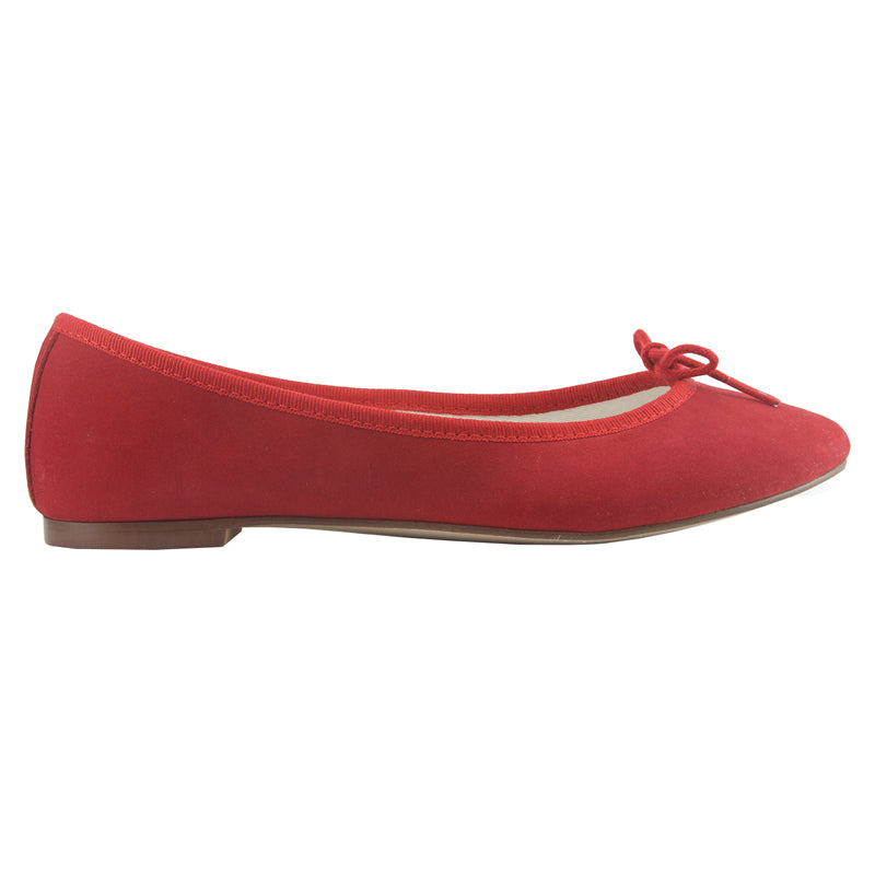 Colette - Red Nubuck