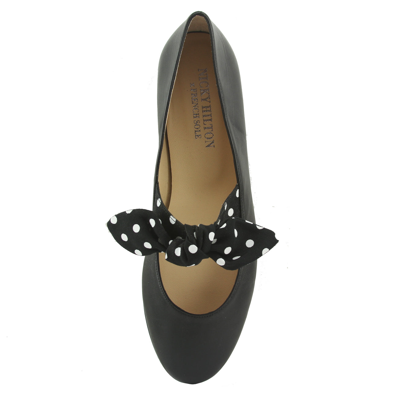 Dotty - Black Leather