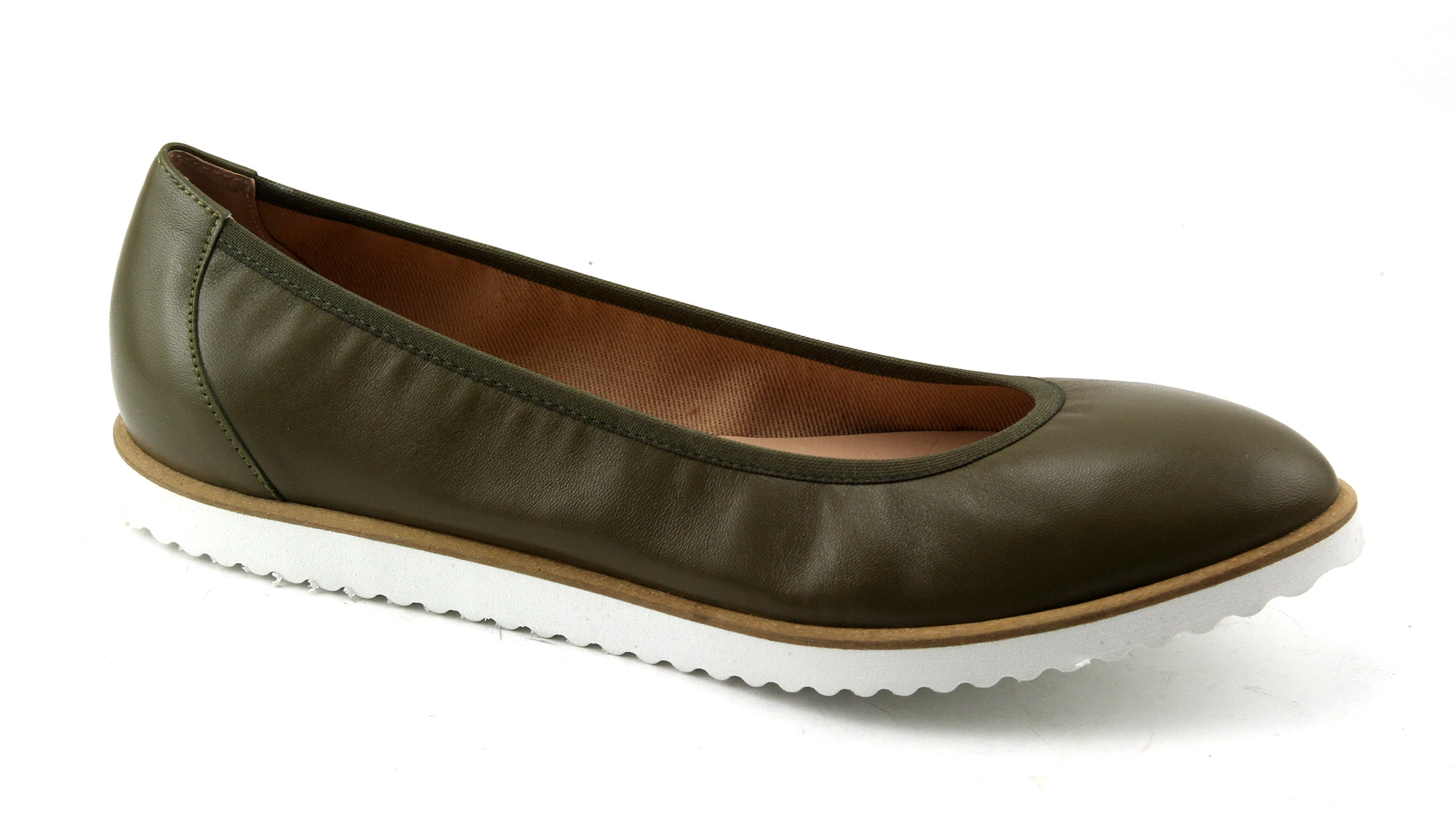 Doorway - Khaki Leather