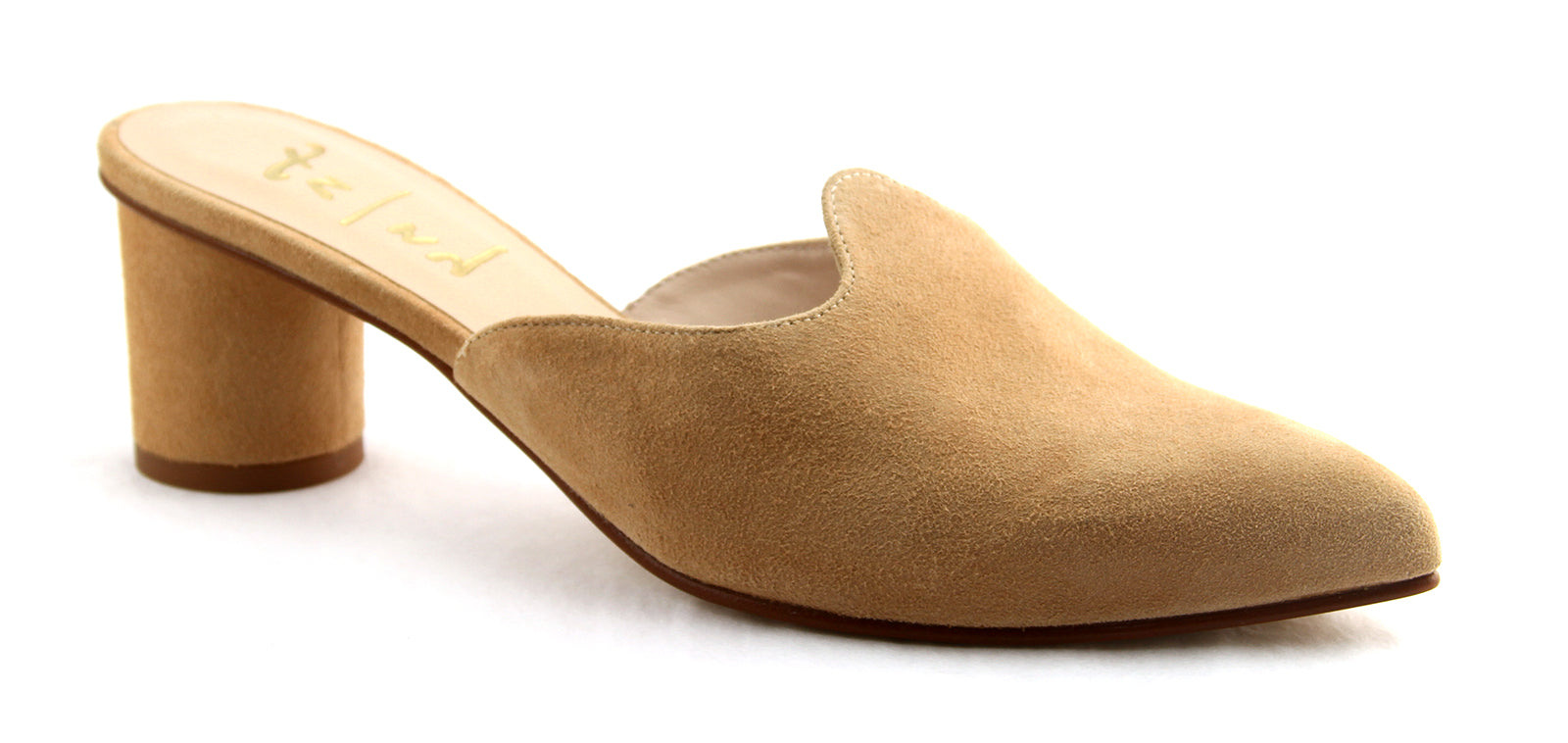 Heather Natural Suede