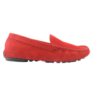 Stella - Red Suede