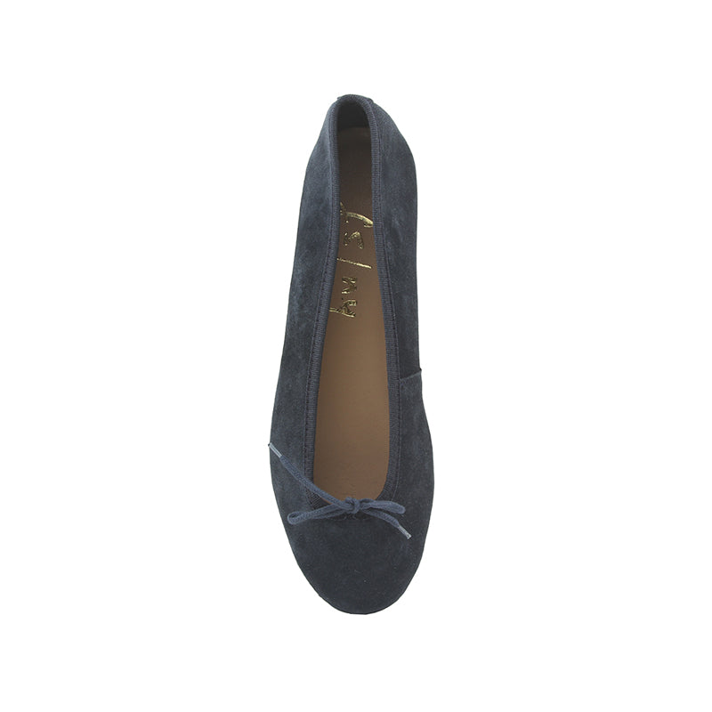 Ingrid - Navy Suede