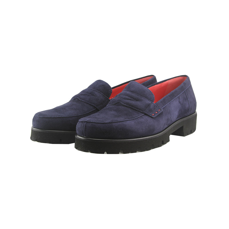 Martha - Navy Nubuck