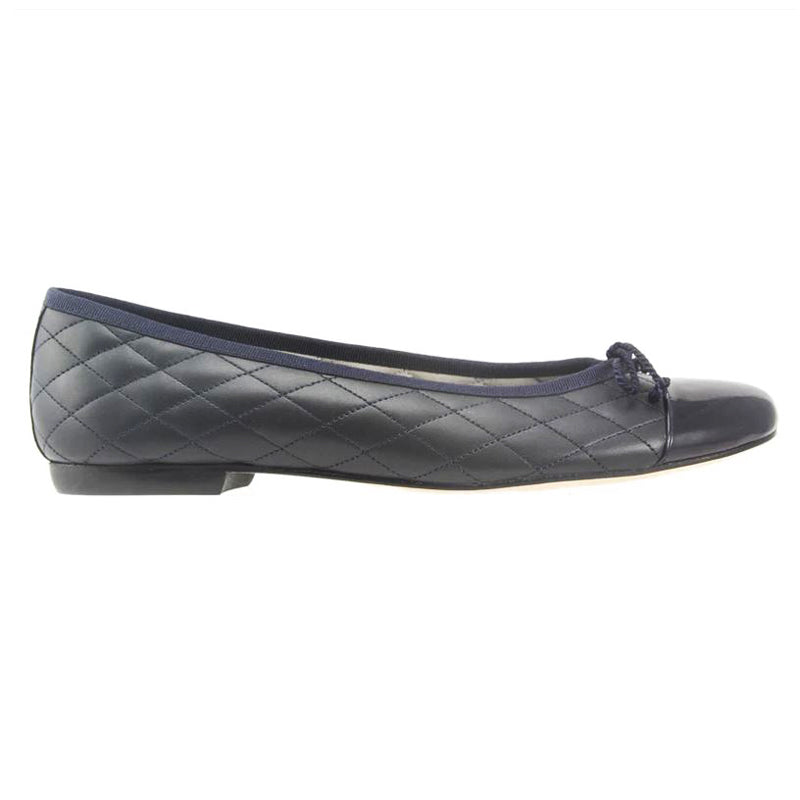 Passport Leather Sole - Navy