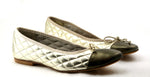 Passport Leather Sole - Pewter/Gold