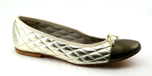 Passport Leather Sole - Gold Pewter