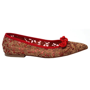 Winona- Red Cork/Mesh