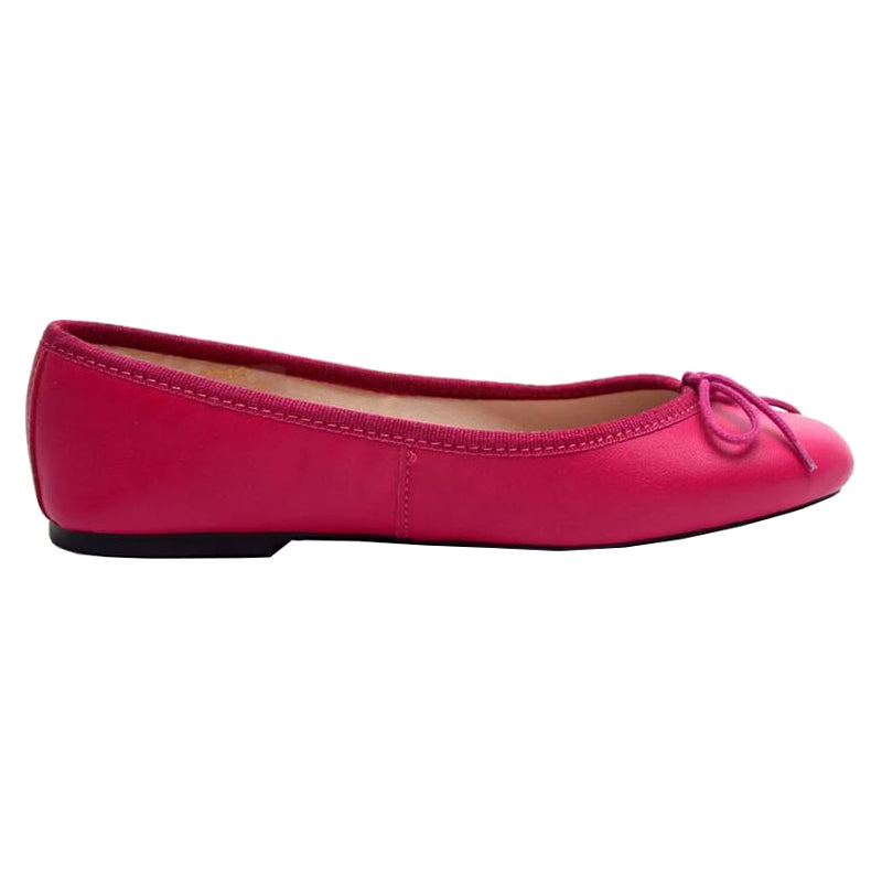 Zoe - Fuchsia Leather