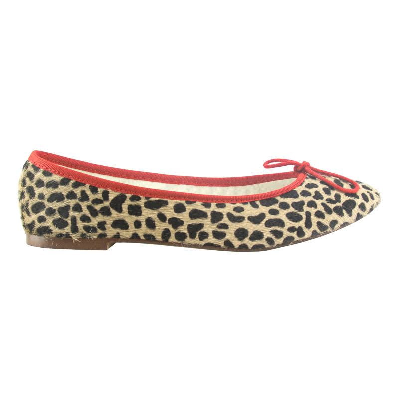 Colette - Leopard/Red