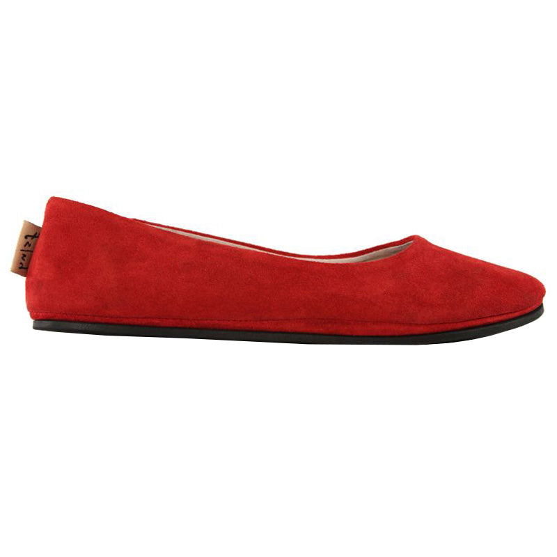 Sloop - Red Suede