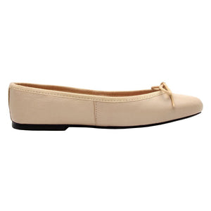 Zoe - Beige Leather