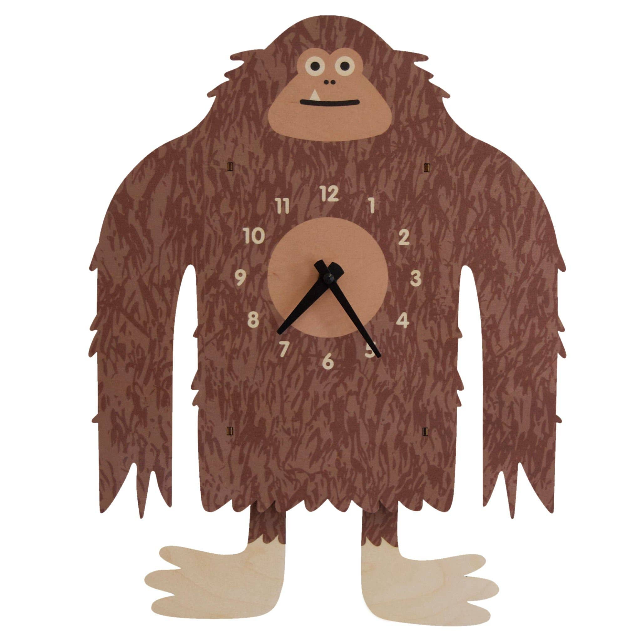 Modern Moose - Bigfoot Pendulum Clock