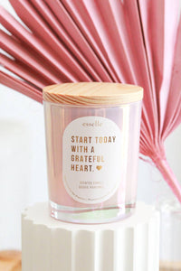 'Grateful' Coconut Wax Candle