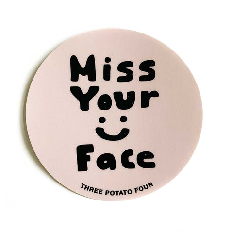 Miss Your Face :) Sticker