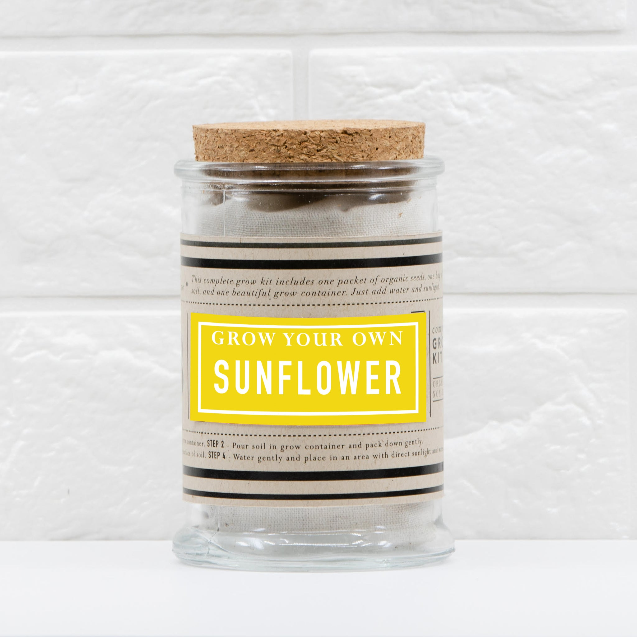 The Urban Agriculture Company - Mini Sunflower Grow Kit