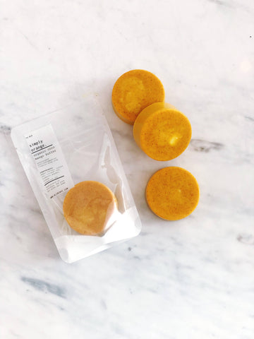 ALIBI NYC - SIMPLY ORANGE + TURMERIC ORGANIC COCO MANGO BUTTER SOAP