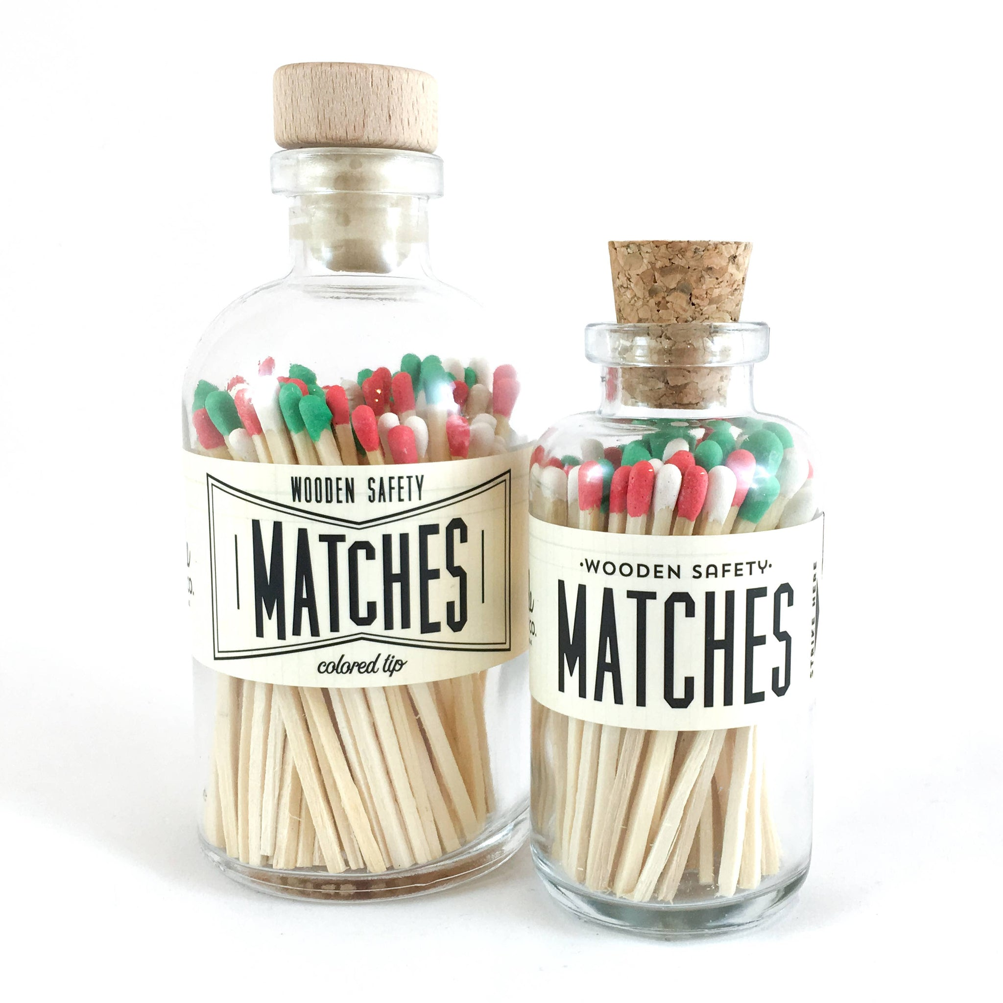 Christmas Vintage Apothecary Matches
