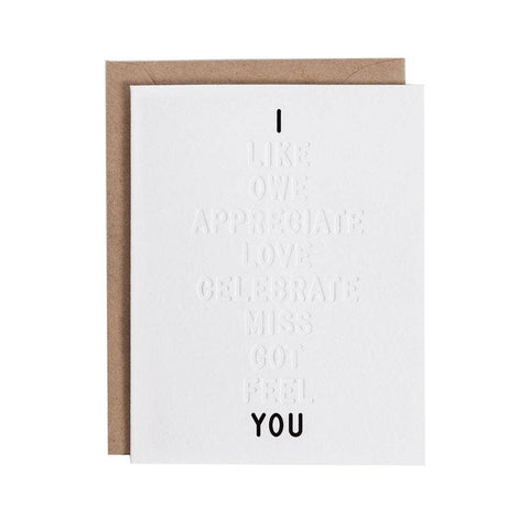 I ____ You Color-in Greeting Card Pack
