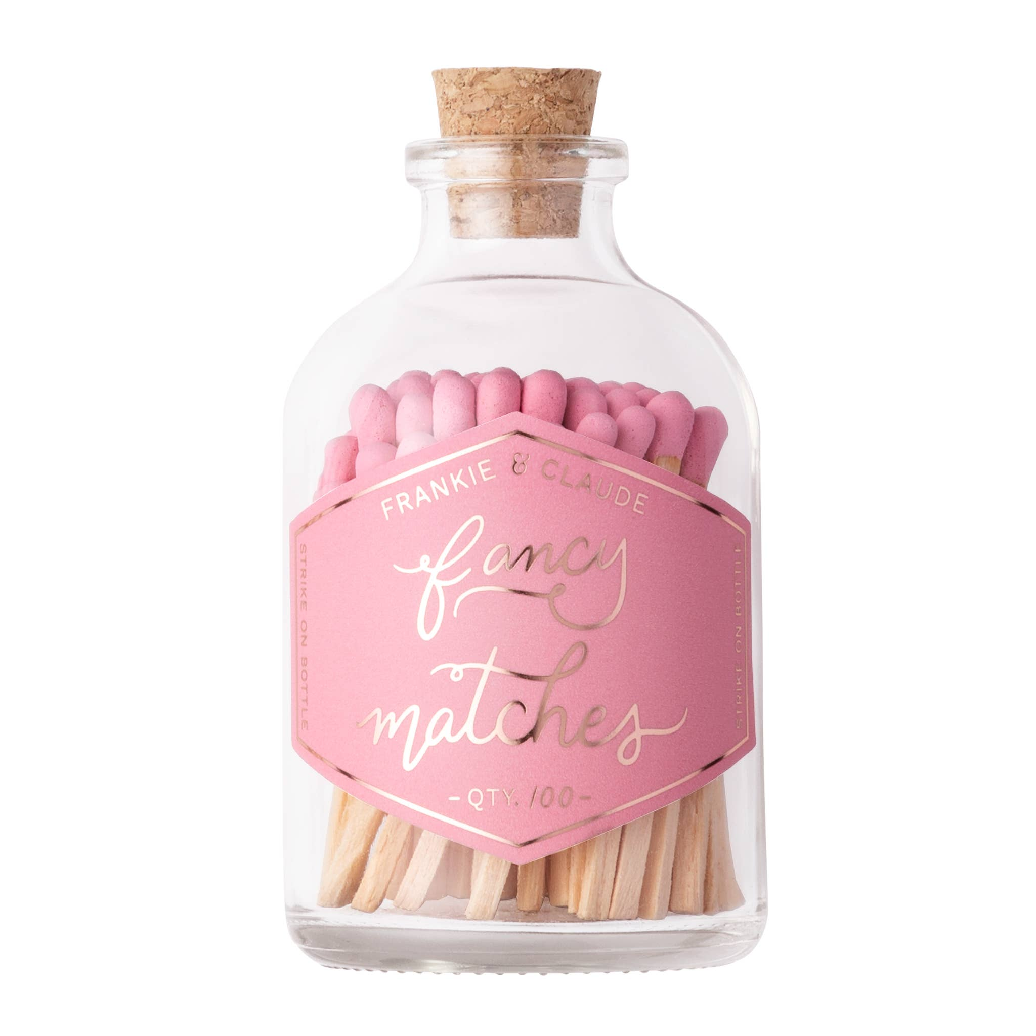 Fancy Matches: Tutu Pink Small Match Jar