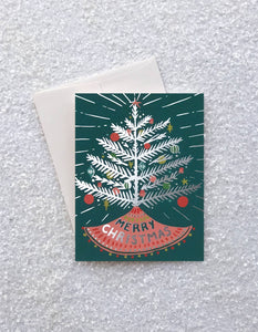 Aluminum Tree Card