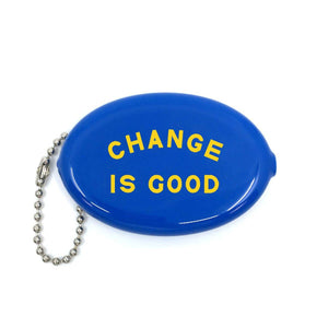 Change Is Good Coin Pouch