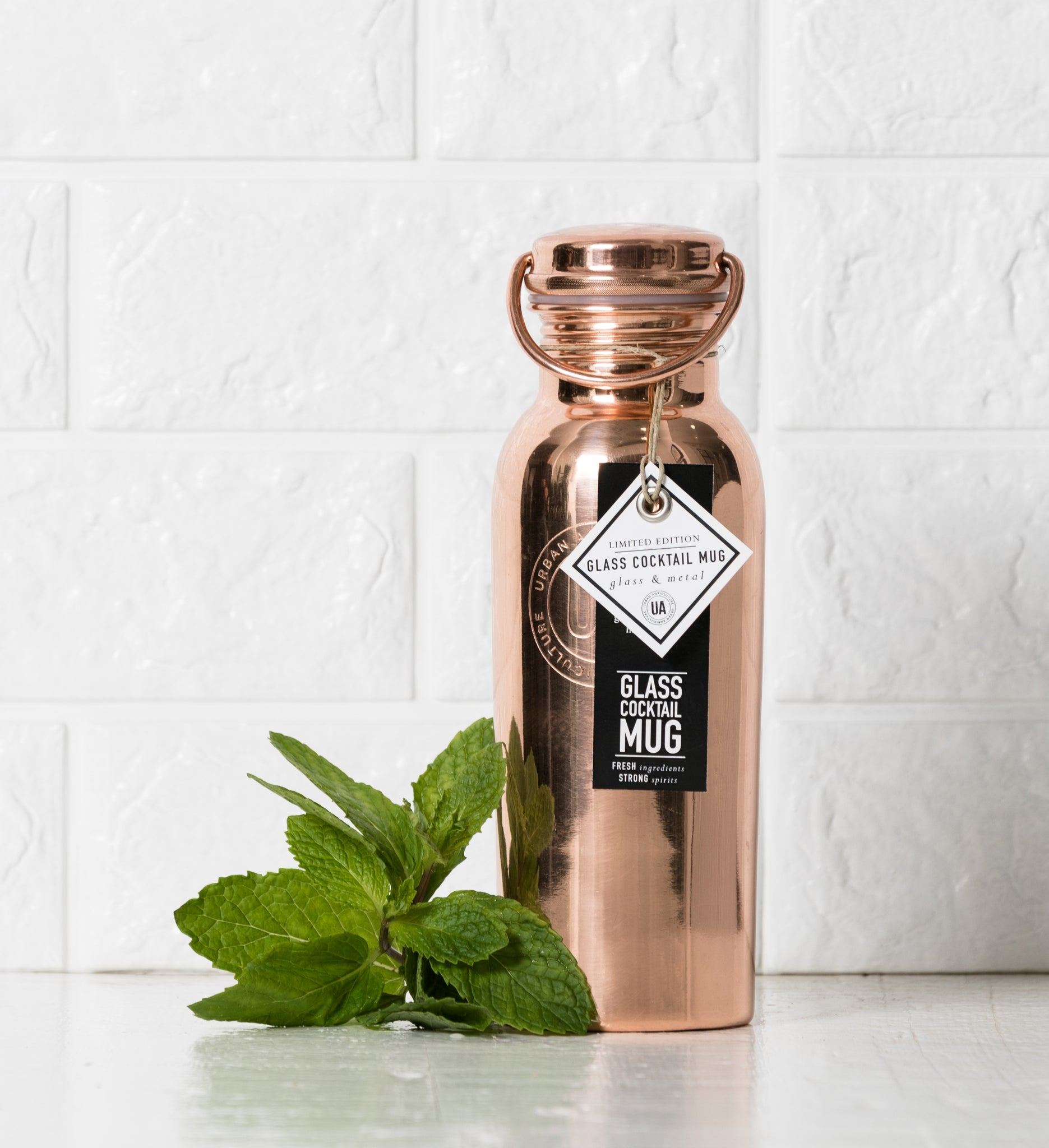 The Urban Agriculture Company - Moscow Mule To-Go Copper Bottle