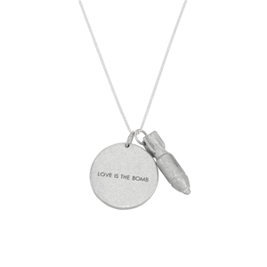 Peacebomb Jewelry - Love is the Bomb Jewelgram Necklace